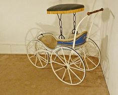 victorian baby buggy | Victorian Baby Buggy, Stroller from antiquesonhanover on Ruby Lane