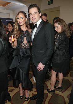 Georgina Chapman Photos Photos - Daniel Paltridge, President, North America Bulgari (R) and  fashion designer Georgina Chapman attend The Weinstein Company's Pre-Oscar Dinner in partnership with Bvlgari and Grey Goose at Montage Beverly Hills on February 25, 2017 in Beverly Hills, California. - The Weinstein Company's Pre-Oscar Dinner in partnership with Bvlgari and Grey Goose