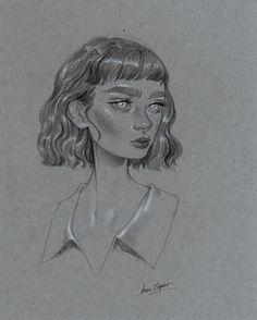 """""""Corinne""""- Original Drawing"""