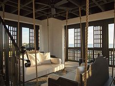 Tower Room Balcony  Boult Residence, Alys Beach Florida Interiors Design by Chelsea Robinson Interiors, LLC