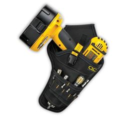Custom LeatherCraft CLC 5023 - Cordless Drill Holster Tool Belt Pouch Holder for sale online Drill Holder, Belt Storage, Garage Storage, Tool Belt Pouch, Plumbing Tools, Plumbing Vent, Plumbing Installation, Dewalt Tools, Construction Tools