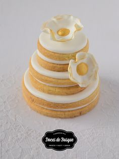 Wedding Cookies | Doces do Bosque