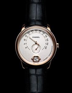 La montre Monsieur de Chanel Horlogerie