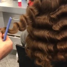 """* Waves for days... a mini video-HOW-TO by Mustafa Avci @mustafasworkshop at @hairsalonm (check out his IG: for the SBS on this in his post) ;) #btcpics"""