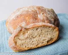 Dutch Oven Bread made with Emmer flour utilizing an overnight poolish.