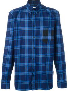 GIVENCHY Plaid Shirt. #givenchy #cloth #shirt