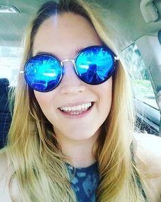 ac4b5b861e64 I am so happy with these sunglasses!  justgotmyzennis  happysummer   grannyglasses  almostfamous