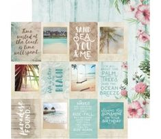 Island Escape - Ohana - Papier 30x30 Ohana, Island, Frame, Home Decor, Picture Frame, Decoration Home, Room Decor, Islands, Frames