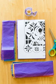 DIY Papel Picado Banner #diadelosmuertos