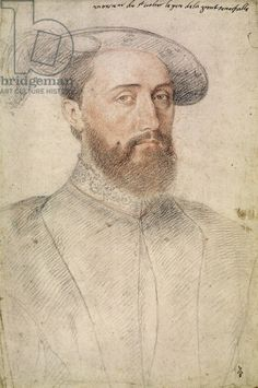 Jean de Poitiers (d.1539) Lord of Saint-Vallier, father of Diane de Poitiers. ... Studio of Clouet. ... Musee Condee.