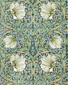 William Morris Pimpernel design