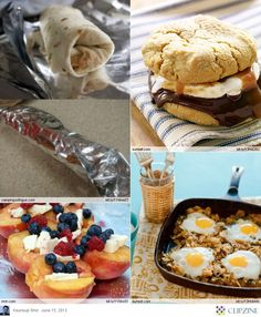Camping dessert dishes are also fun and easy for kids to make, and the whole family delights in consuming them. Have a preferred household outdoor camping dish that the kids love to cook. Auto Camping, Camping Glamping, Camping Meals, Camping Hacks, Camping Recipes, Camping Stuff, Camping Dishes, Backpacking Meals, Fun Recipes