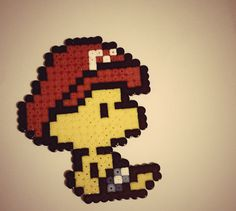 Hama beads!! Bebe Marios Bros