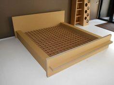 кровать из картона своими руками