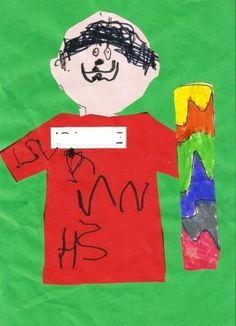 Εγώ και το αρχικό μου :: kidsactivities.gr Kai, Ronald Mcdonald, Fictional Characters, Fantasy Characters, Chicken