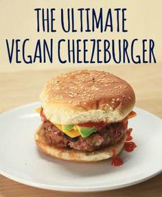 How To Make The World's Best Vegan Cheeseburger