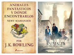 J.K. Rowling - Animales fantasticos y donde encontrarlos (Book vs Film)