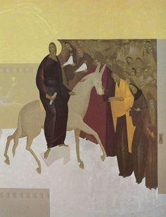 by Michalis Vasilakis ( Greece-Cretan) Stella Art, Byzantine Art, Mary And Jesus, Orthodox Icons, Sacred Art, Christian Art, Religious Art, Art And Architecture, Catholic