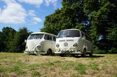 Another booking for Georgie & Jimi as a pair today. How cute do they look together with their matching flowers 💜 Wedding Car Hire, Wedding Company, Tiny Camper, Vw Camper, Preston Court, White Vans, Civil Ceremony, Recreational Vehicles, Court Weddings