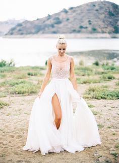 Bridal Portraits In Paolo Sebastian Gown   Photos by Jen Wojcik