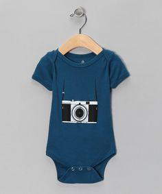 Take a look at this Galaxy Vintage Tourist Organic Bodysuit - Infant on zulily today!