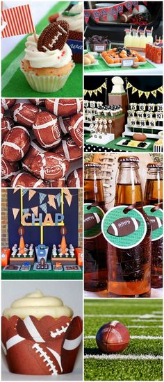 Superbowl & football foods. I'm sure I'll need this for Corey and the boys football parties one day!