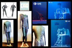 """Theater Costume by ArtEcò Creazioni di Annalisa Benedetti for """"ÆNIGMA"""" show with Antonio Casanova #artecocreazioni #annalisabenedetti #theatercostume #stylist #handmade #ænigma #antoniocasanova"""