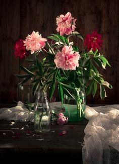натюрморт, цветы, композиция, обработка