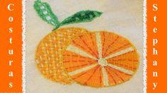 Naranjas en Bordado Fantasia