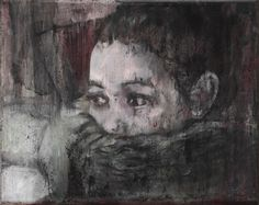 Girl with Scarf — Josef Bolf, 2011 Painting & Drawing, Drawings, Artist, Artwork, Image, Scarves, Wraps, Watch, Scarfs