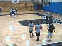 Basketball Drills - V Cut Shooting Drill - YouTube