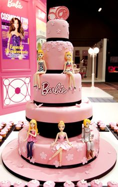 Barbie cake. Ok, you can eat this one...