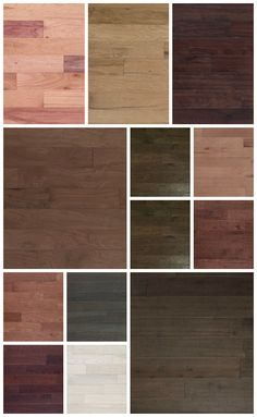 The many shades of elegantly crafted engineered hardwood floors, Q•Wood by Quick•Step.