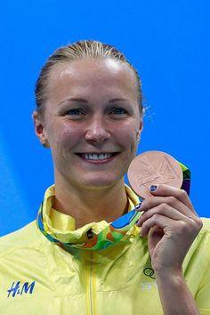 競泳、サラ・ショーストレム(スウェーデン)=ゲッティ