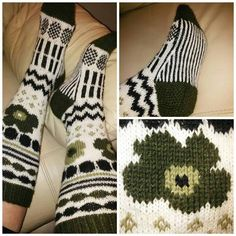 Marisukat – Kaikenlaista kivaa omin käsin tehden Knitting Charts, Knitting Socks, Knitting Patterns, Crochet Patterns, Crochet Skirts, Knit Crochet, Wool Socks, Designer Socks, Marimekko