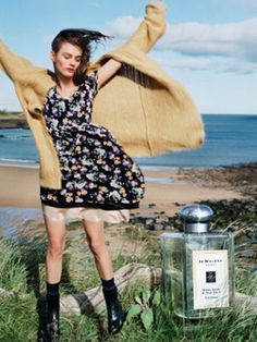 Jo Malone Wood Sage & Sea Salt Cologne ~ cant wait to try this new perfume by Jo Malone out in September!