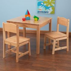 Aspen Kids Wooden Table And Chairs