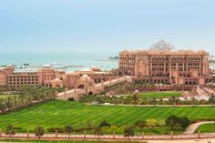 Located in the heart of Abu Dhabi, Emirates Palace is the definition of an unrivaled Arabian fantasy