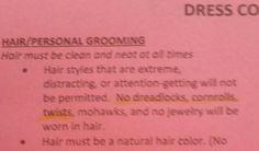School's Dress Code Racist?