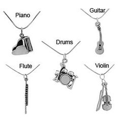 @Overstock - Celebrate the gift of music with a beautiful sterling silver pendant  Musical instrument jewelry is a perfect gift for the musician in your family  Choose from the guitar, violin, drums, piano and flute necklace optionshttp://www.overstock.com/Jewelry-Watches/Tressa-Sterling-Silver-Musical-Instrument-Necklace/1756303/product.html?CID=214117 $22.94
