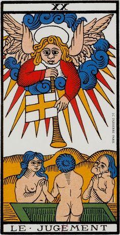 Tarot de Marseille de Paul Marteau - Editions Dusserre