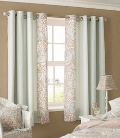 17 Awesome Short Curtains With Style images | Bedrooms, Home, Yurts