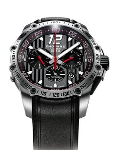 Chopard Superfast Chrono stainless-steel pre #Baselworld2013
