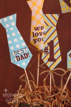 Kara's Party Ideas Father's Day Party - Free Printables! | Kara's Party Ideas