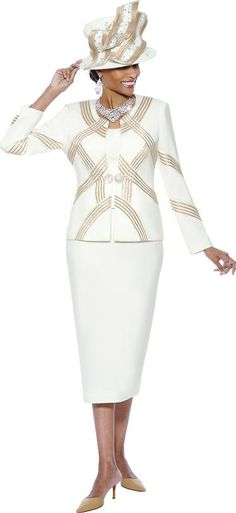 Susanna 3534 Womens 3 Piece Church Suit