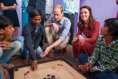 The Duke and Duchess of Cambridge Visit Street Children On Day 3 Of India Tour