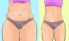 Découvrez ces exercices simples et efficaces à faire 6 minutes par jour pour éliminer la graisse du ventre...