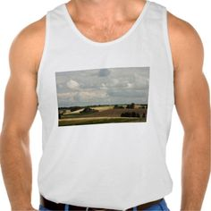 Rural landscape tank tops Tank Tops