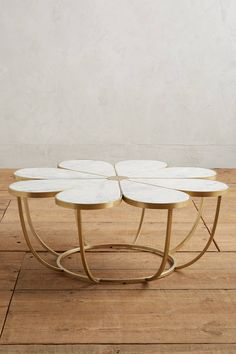 Slide View: 1: Boutonniere Coffee Table