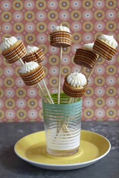 Cupcakes on a Stick!